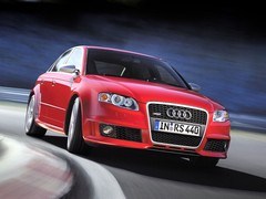 B7 RS4 just as fast as the new one