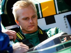Heikki to be joined by Vitaly Petrov