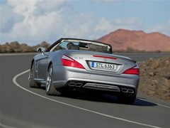 SL63 badge remains, 6.2 V8 replaced