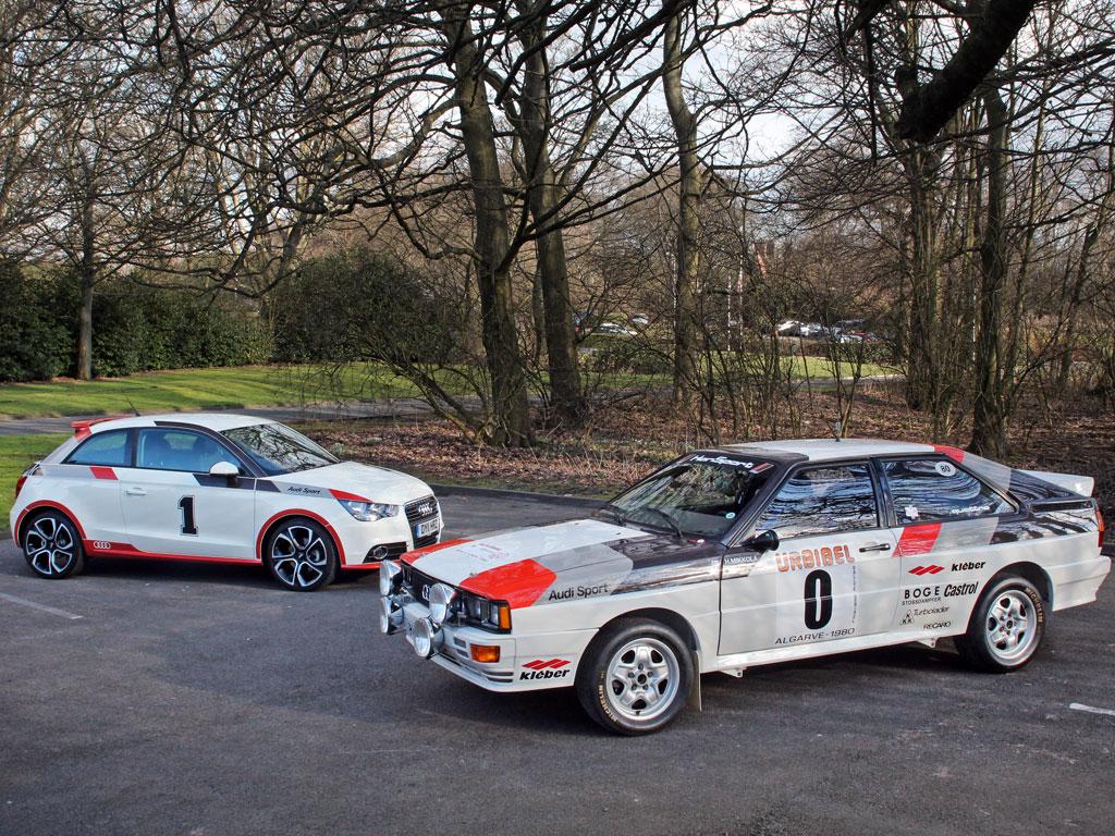 Audi Quattro Rally Car Vs Audi A1 Pistonheads