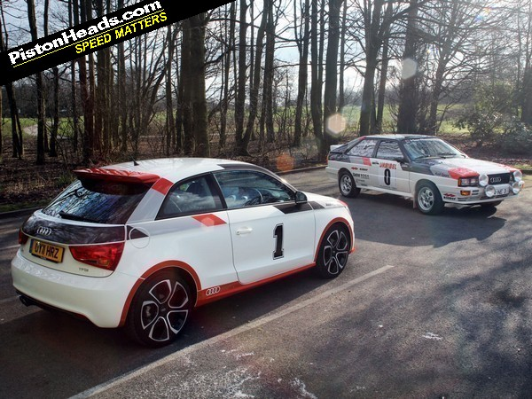 Re Audi Quattro Rally Car Vs Audi A1 Page 1 General Gassing