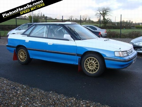 Re Spotted Subaru Legacy Rally Car Page 1 General Gassing