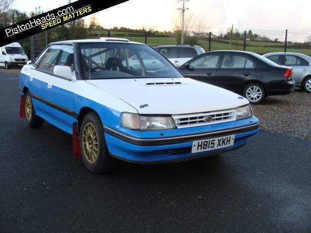 Spotted Subaru Legacy Rally Car Pistonheads