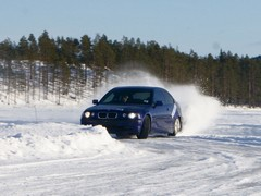 RWD + snow = predictable results