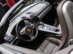 Interior influenced by new 911