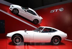 Toyota GT 86 meets the ancestors