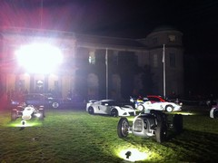 Oiks parking on Goodwood grass a problem