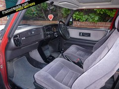 Non saggy, velour heavy interior pictured