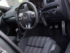 GTD interior does without our car's leather