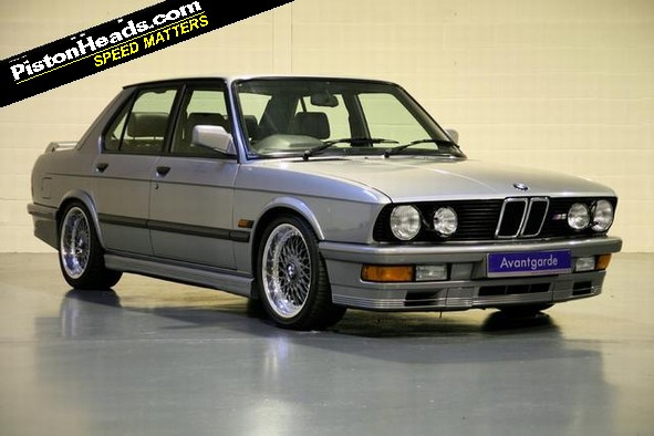 Spotted E28 Bmw M5 With Added Hartge Pistonheads