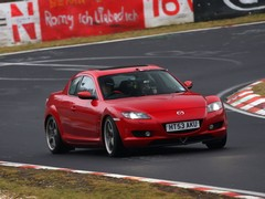 Dale and RX-8 mate Junji hit the Nordschleife