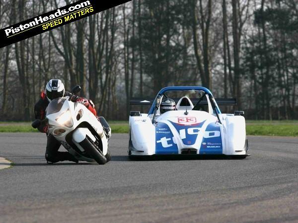 PH2: Suzuki Hayabusa vs Radical SR3 RS | PistonHeads