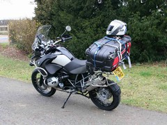 German touring rider's bike of choice