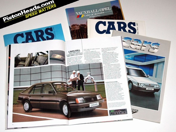 RE: PH Blog: the death of the car brochure - Page 1 - General ...