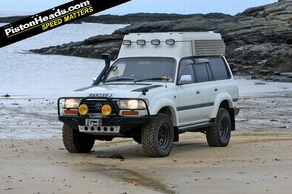 Spotted Toyota Land Cruiser Camper Pistonheads