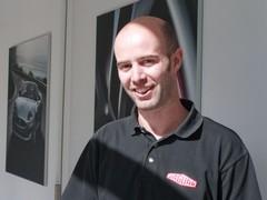 Phil Talboys runs Jag testing at the 'ring