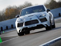 Shakedown sessions at Prodrive's track