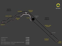 Track layout similar to 1999 update