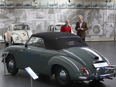 Beetle-based roadster built in Stuttgart... but four years before the 356...