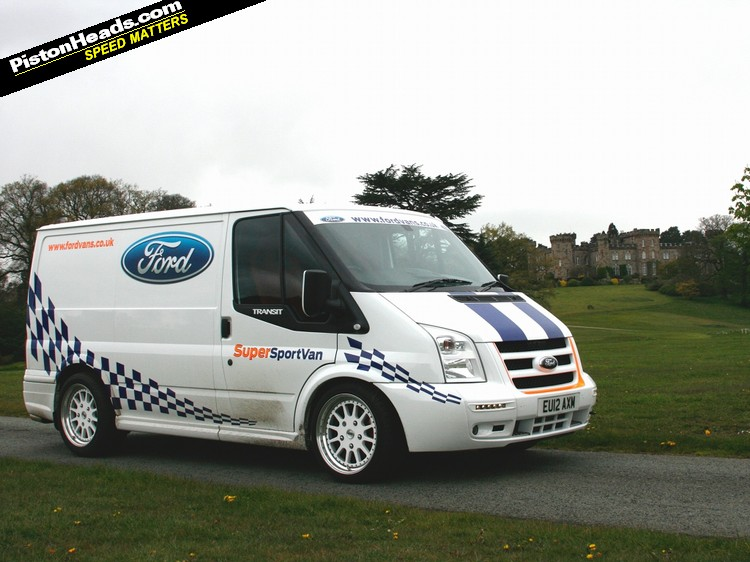 driven ford transit supersportvan pistonheads
