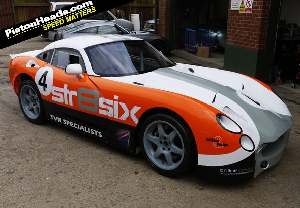 RE: Meet the nd-new Tuscan race car... - Page 1 - General TVR ...