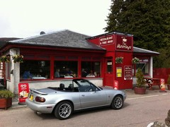 Refreshment stop in Fort Augustus