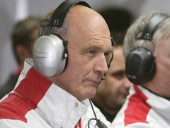 As is Audi motorsport boss Wolfgang ullrich