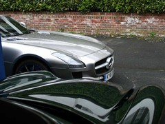 SLS truly great but TVR still thrills