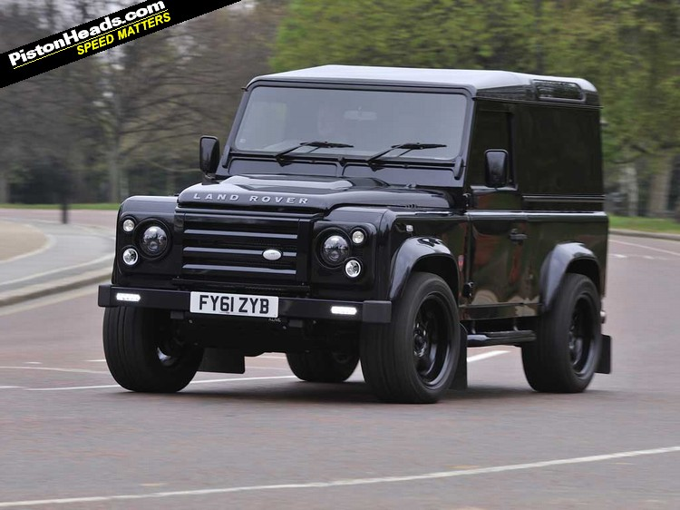 Driven prinille land rover defender pistonheads