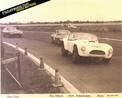 The car in action at Croft in 1965