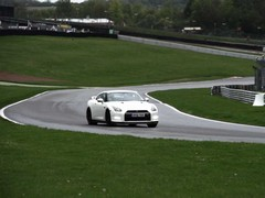 Track Pack Nissan GT-R ... on a track!