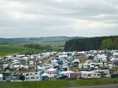 Just one of a hundred or so campsites