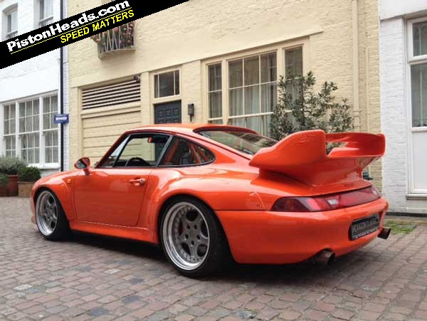 re spotted porsche 911 gt2 clubsport 993 page 1 general gassing pistonheads. Black Bedroom Furniture Sets. Home Design Ideas