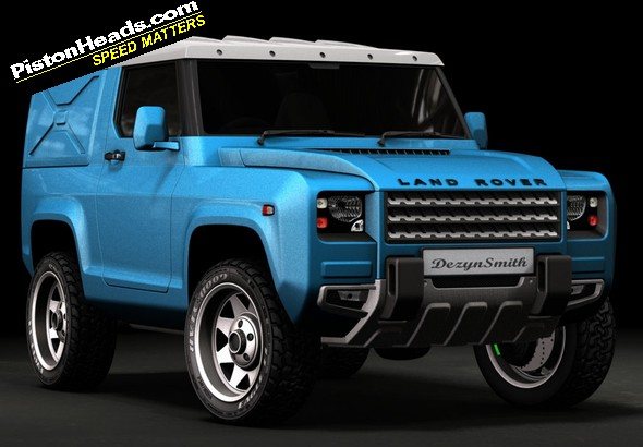 Re Unofficial Defender Concept Keeps It Simple Page 1