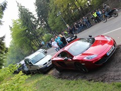 �215K's worth of supercar, dumped on a verge