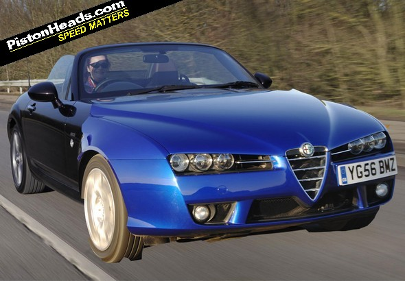 A high-quality PH impression of the Alfa-Mazda...