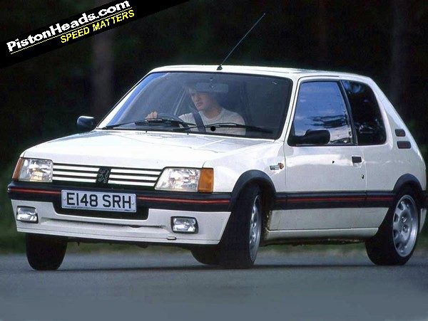tell me i 39 m wrong peugeot 205 gti pistonheads. Black Bedroom Furniture Sets. Home Design Ideas
