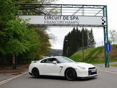 Drive to the 'ring took in a visit to Spa too