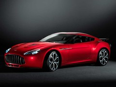 Aston V12 gets by the numbers Zagato look