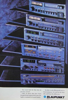 A tower of Blaupunkt-based joy
