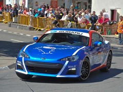 Higgins shows Sean round in a BRZ