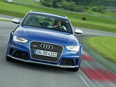 RS4 really comes alive when thrashed