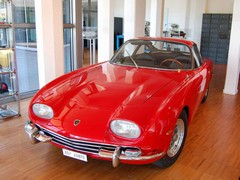 350 GT is Ferruccio's original riposte to Ferrari