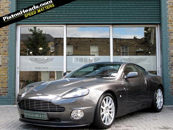 Re  Spotted  Aston Martin Vanquish S Manual