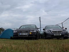 The PH S4 camping it up at Le Mans