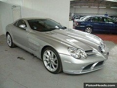 Sure, this SLR cheap for a supercar...