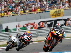 Moto 2 race a typically close affair