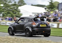 Wacky Juke feels almost like a rally car