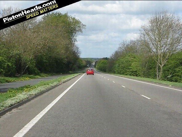 A40 Oxford ring road: currently 70mph, could become 40mph