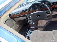 Interior nothing like today's AMGs